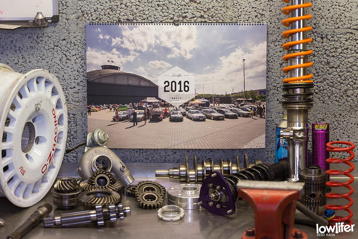 Lowliferi 2016. a kalender