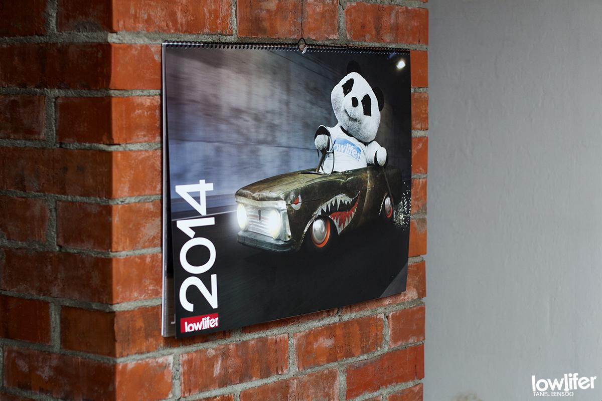 Lowlifer 2014 kalender