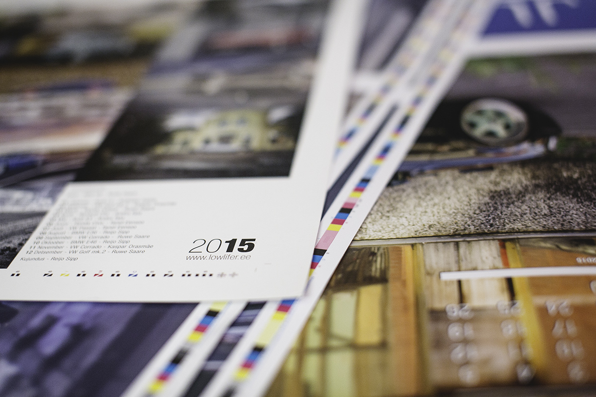 2015 Lowlifer Calendar